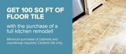Get 100 SQ FT of Floor Tile