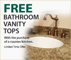 Free Bathroom Vanity Tops