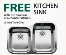 Free Kitchen Sink